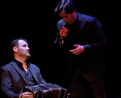 Week-end 2 : Diego Flores & William Sabatier © CCR d'Ambronay-Bertrand Pichène