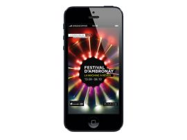 L'application iPhone du Festival d'Ambronay est désormais disponible !